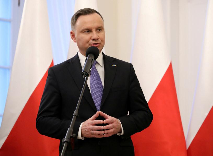Prezydent Andrzej Duda /Piotr Molecki /East News