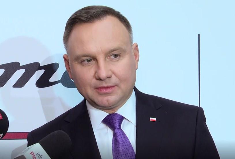 Prezydent Andrzej Duda /Zbigniew Czyż /INTERIA.PL