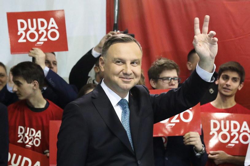Prezydent Andrzej Duda / Tomasz Gzell    /PAP
