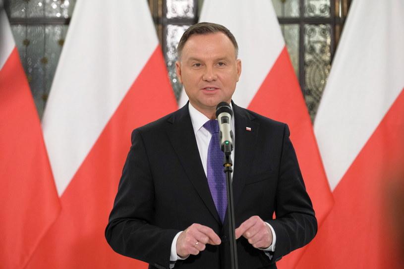 Prezydent Andrzej Duda /Mateusz Marek /PAP