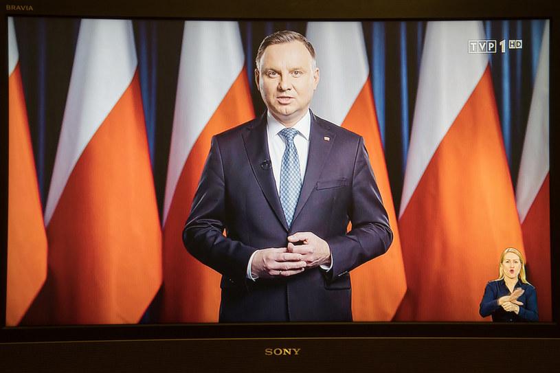 Prezydent Andrzej Duda /Wojciech Strozyk/REPORTER /East News