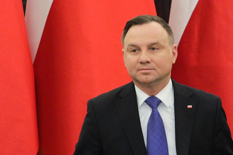 Prezydent Andrzej Duda /Andrzej Hulimka  /Agencja FORUM
