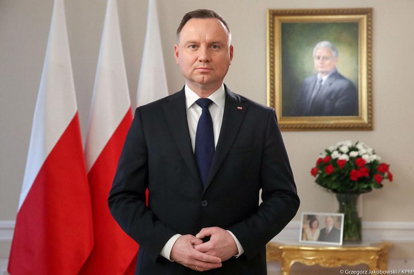 Prezydent Andrzej Duda /Kancelaria Prezydenta /