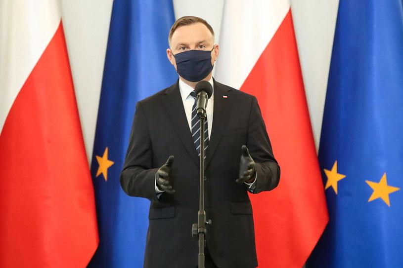 Prezydent Andrzej Duda /Kancelaria Prezydenta RP/ Grzegorz Jakubowski /PAP