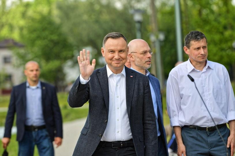 Prezydent Andrzej Duda /Przemyslaw Piątkowski /PAP/EPA