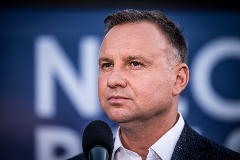 Prezydent Andrzej Duda /Marcin Bruniecki /Reporter