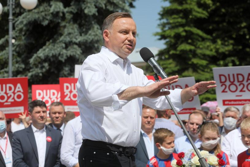 Prezydent Andrzej Duda / Artur Reszko    /PAP