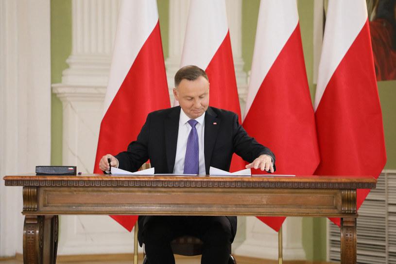Prezydent Andrzej Duda /Jakub Kaminski/EastNews /East News