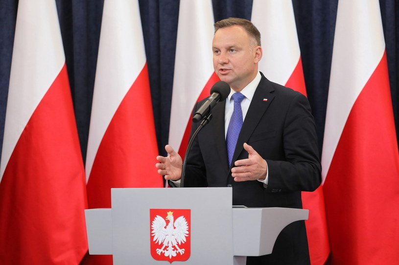 Prezydent Andrzej Duda /Paweł Supernak /PAP