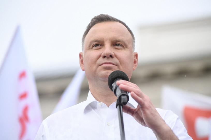Prezydent Andrzej Duda / Jacek Domiński /Reporter