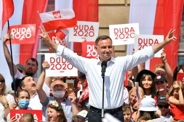 Prezydent Andrzej Duda / Maciej Kulczyński    /PAP