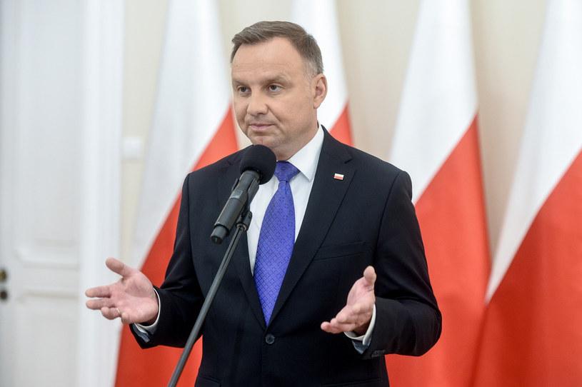 Prezydent Andrzej Duda /Jacek Dominski/REPORTER /Reporter