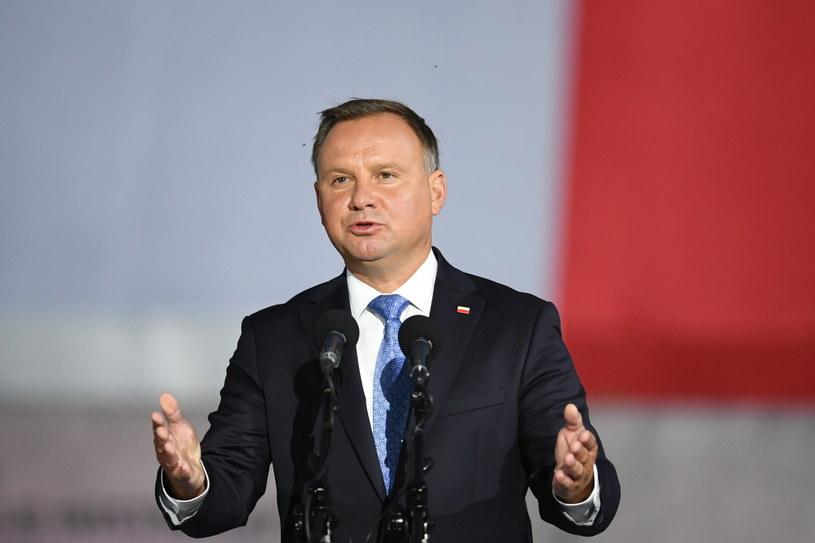 Prezydent Andrzej Duda / Adam Warżawa    /PAP
