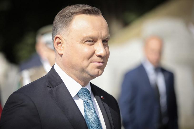 Prezydent Andrzej Duda /Bartlomiej Wojtowicz /Reporter