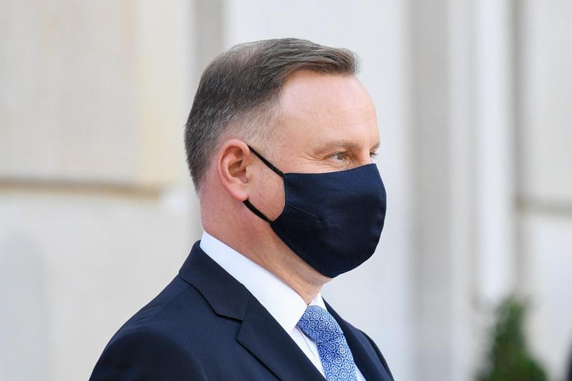 Prezydent Andrzej Duda /Jacek Dominski/ /Reporter