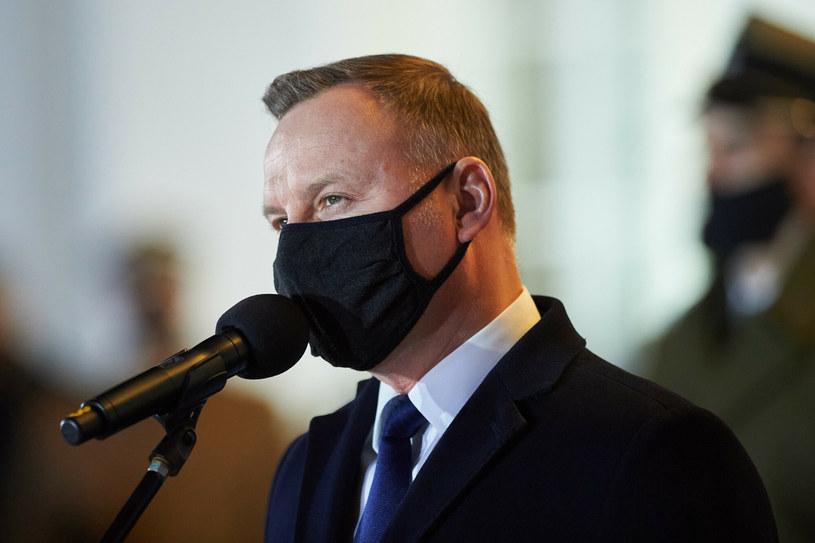 Prezydent Andrzej Duda /Lukasz Szelag /Reporter