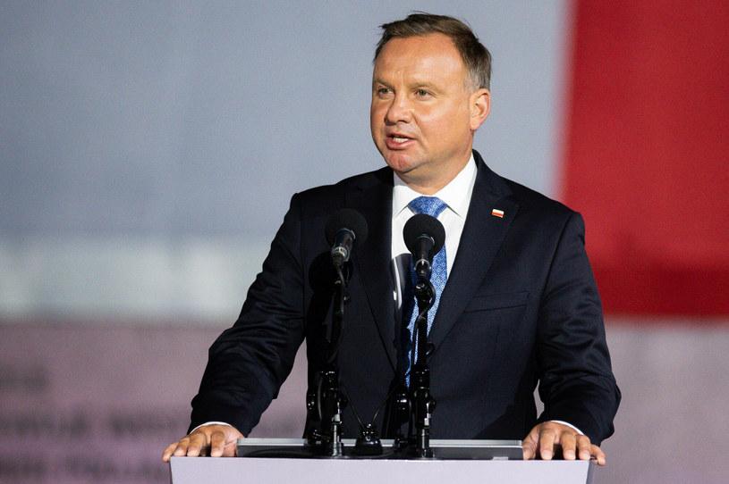 Prezydent Andrzej Duda /Mateusz Słodkowski /East News