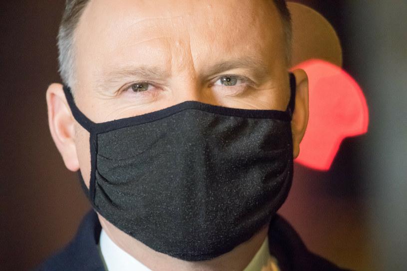 Prezydent Andrzej Duda /Wojciech Strozyk/REPORTER /Reporter