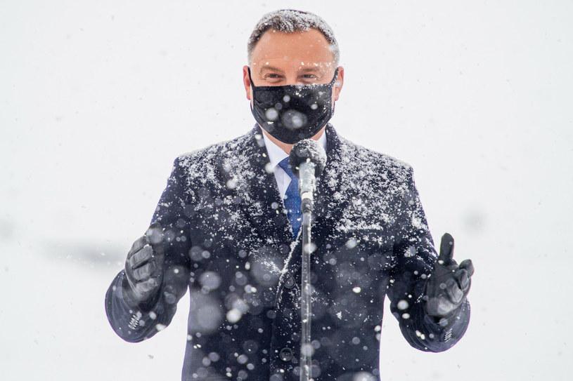 Prezydent Andrzej Duda /Piotr Hukalo /East News