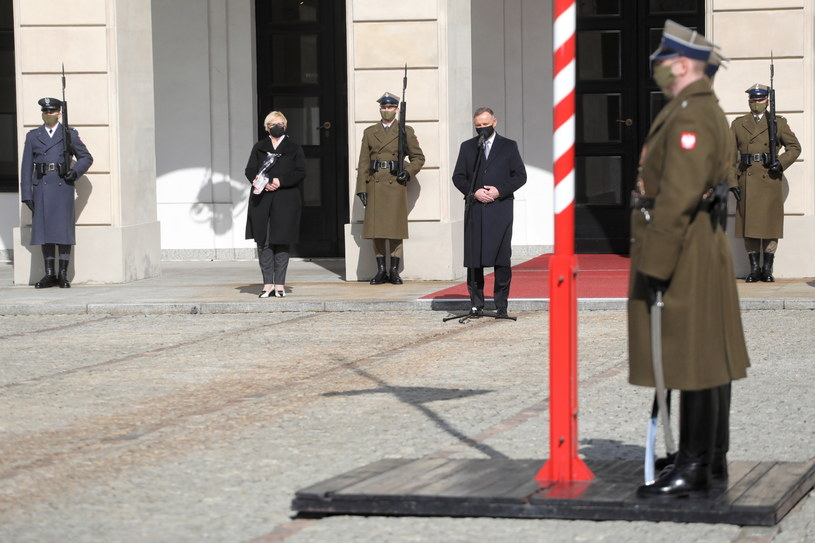 Prezydent Andrzej Duda /PAP/Albert Zawada
