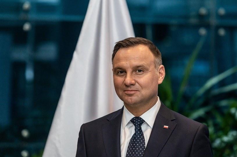 Prezydent Andrzej Duda /Krzysztof Kaniewski /Reporter