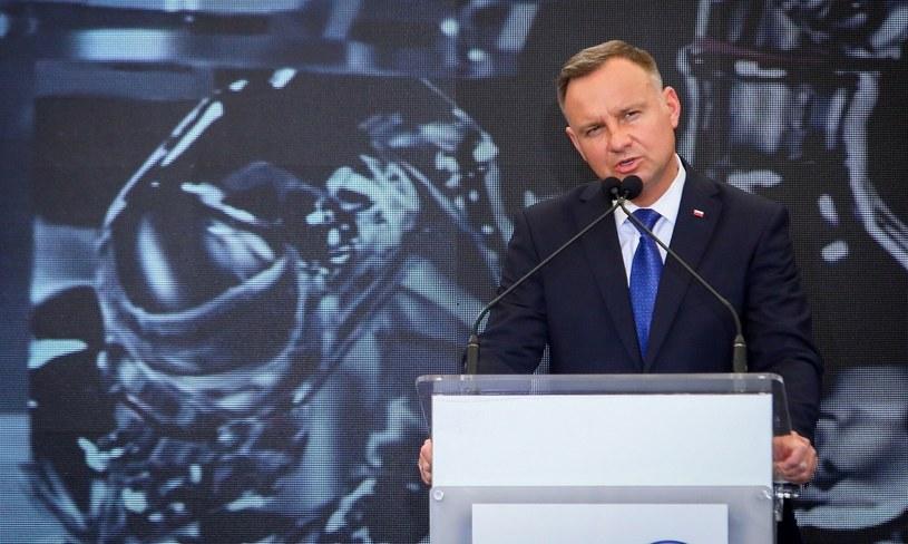 Prezydent Andrzej Duda /Tomasz Jastrzębowski /Reporter