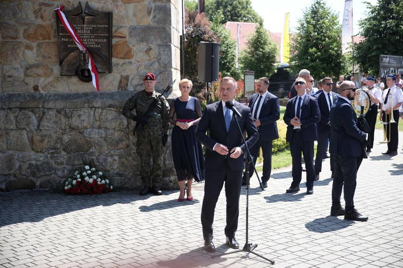 Prezydent Andrzej Duda /Łukasz Gągulski /PAP