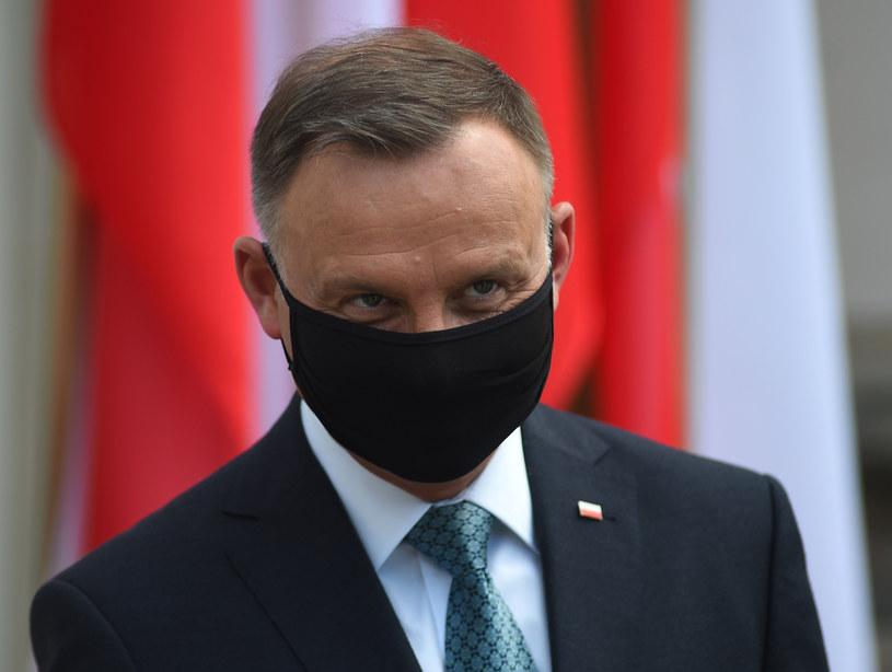 Prezydent Andrzej Duda /Adam Chelstowski /Agencja FORUM