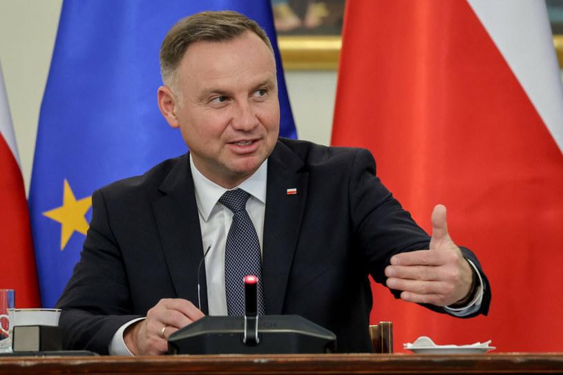 Prezydent Andrzej Duda / Jacek Dominski /REPORTER /Reporter