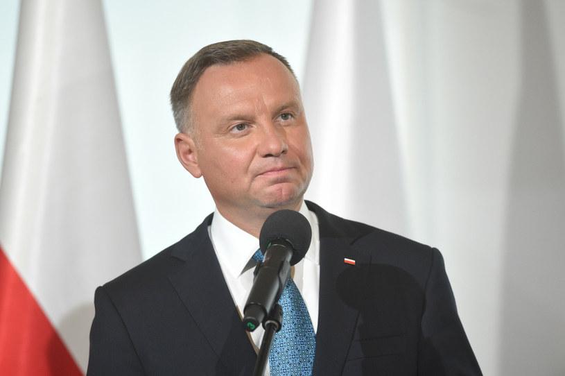 Prezydent Andrzej Duda /Zbyszek Kaczmarek /Reporter