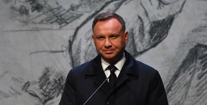 Prezydent Andrzej Duda /Grzegorz Michałowski /PAP