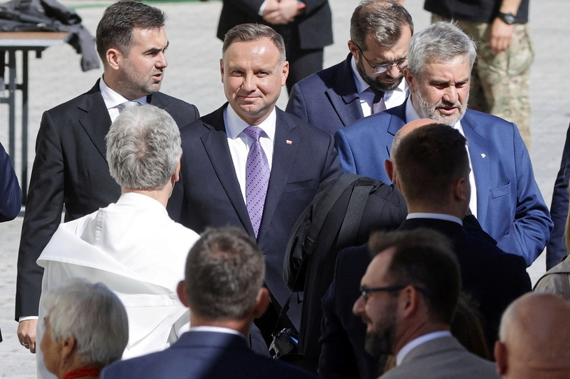 Prezydent Andrzej Duda /Waldemar Deska /PAP