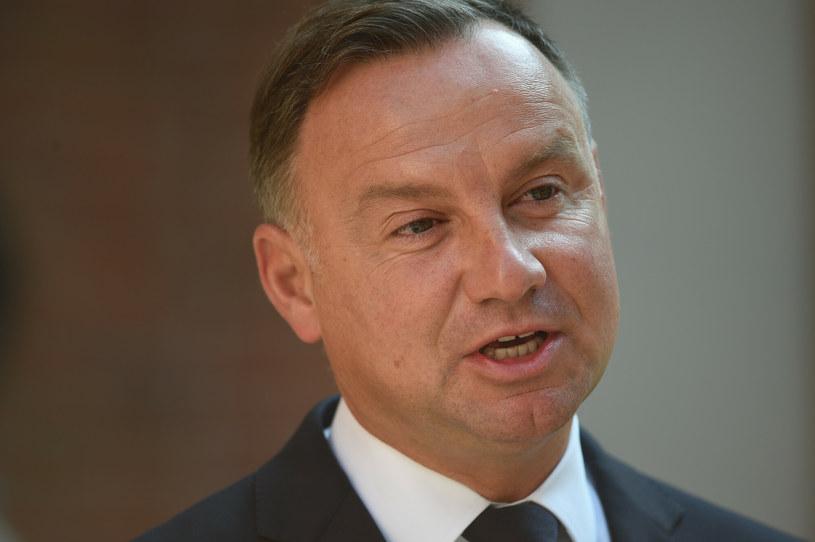 Prezydent Andrzej Duda /Zbyszek Kaczmarek/REPORTER /Reporter