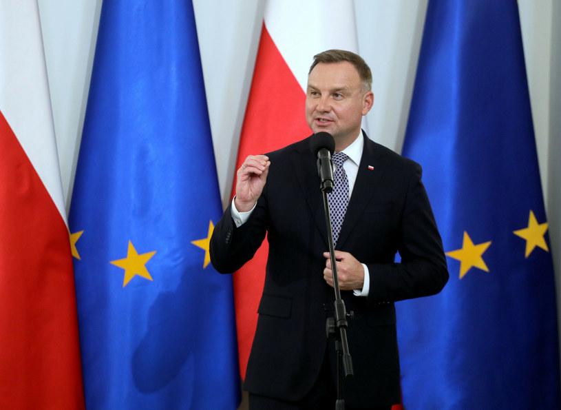 Prezydent Andrzej Duda /Paweł Wodzyński /East News