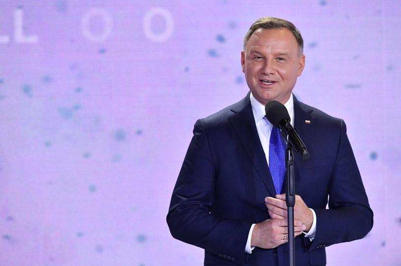 Prezydent Andrzej Duda /Piotr Nowak /PAP