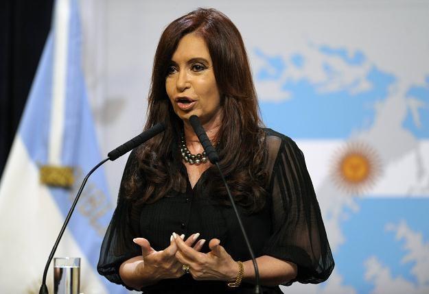 Prezydent Argentyny Cristina Fernandez de Kirchner /AFP