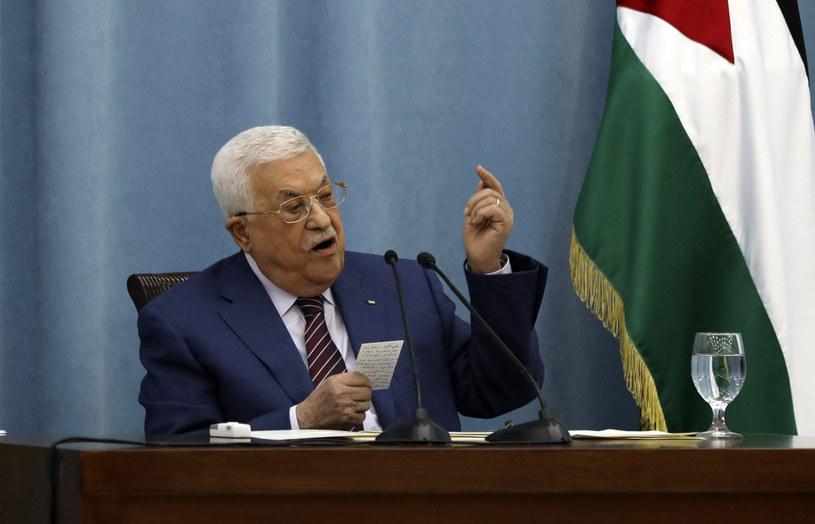 Prezydent Autonomii Palestyńskiej Mahmud Abbas /ABBAS MOMANI/AFP /AFP