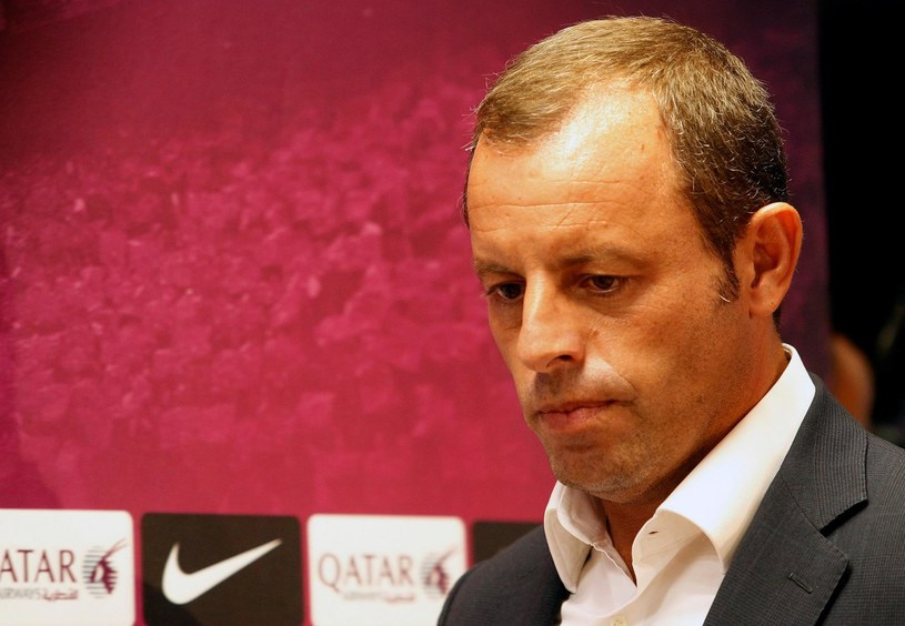 Prezydent Barcelony Sandro Rosell /AFP