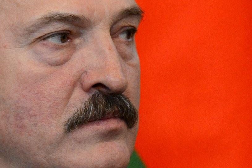 Prezydent Białorusi Alaksandr Łukaszenka. /AFP