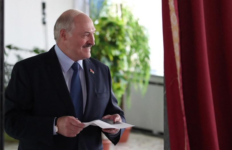 Prezydent Białorusi Alaksandr Łukaszenka /TATYANA ZENKOVICH  /PAP/EPA