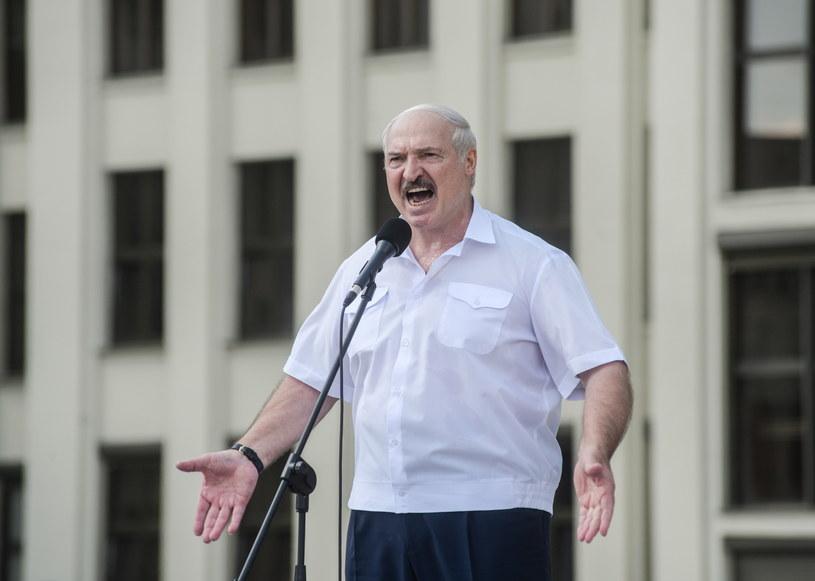 Prezydent Białorusi Alaksandr Łukaszenka /YAUHEN YERCHAK /PAP
