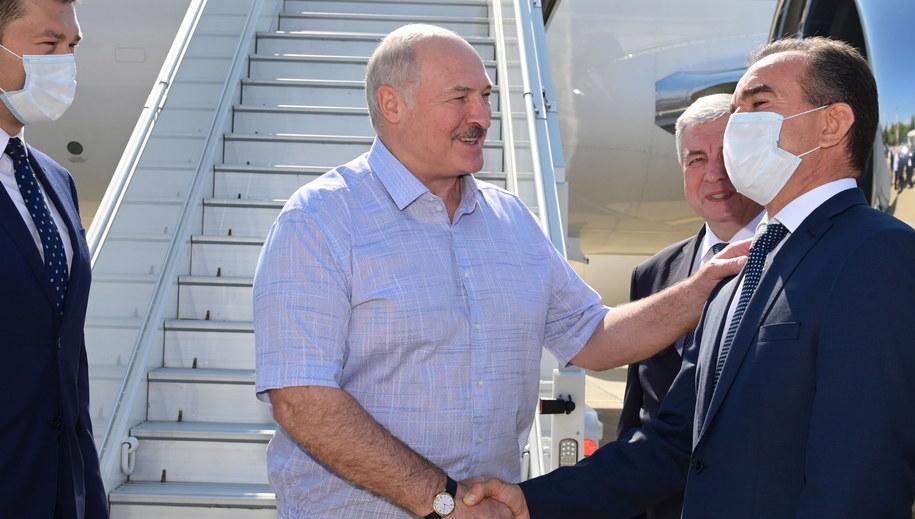 Prezydent Białorusi Alaksandr Łukaszenka /ANDREI STASEVICH / BELTA / POOL /PAP/EPA