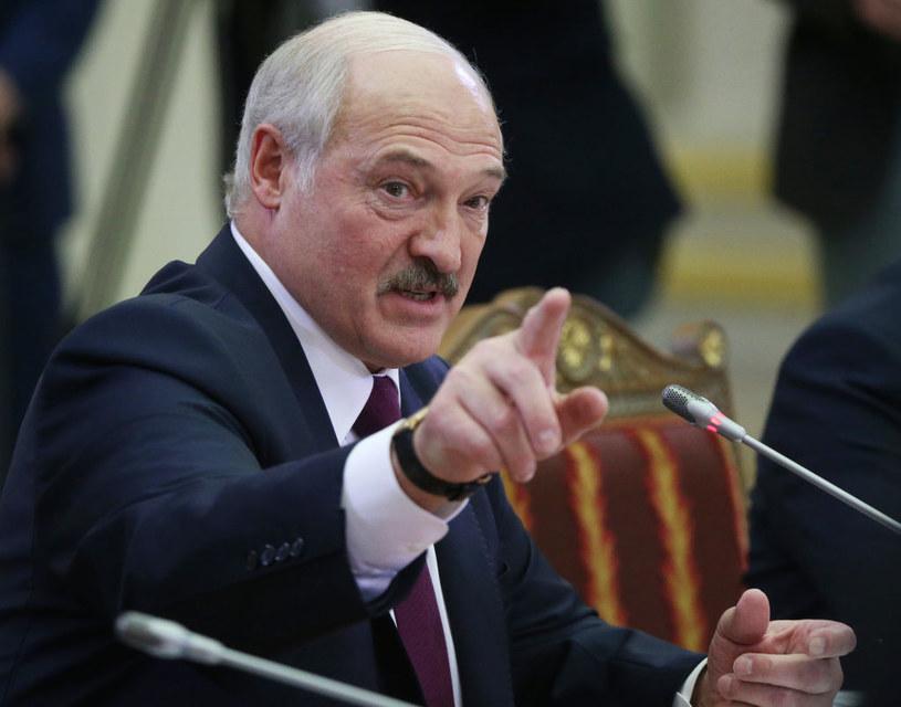 Prezydent Białorusi Alaksandr Łukaszenka /Mikhail Svetlov /Getty Images
