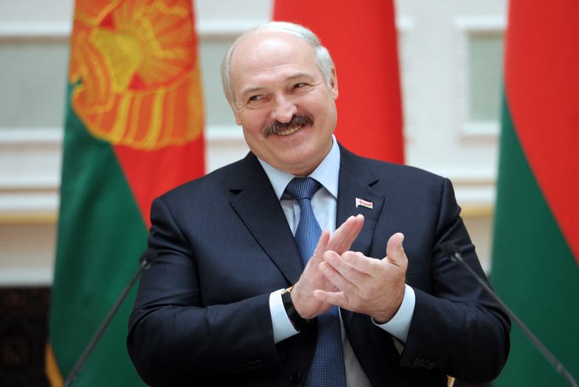 Prezydent Białorusi Aleksander Łukaszenka /AFP