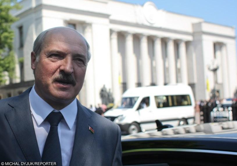 Prezydent Białorusi Aleksandr Łukaszenka /Michal Dyjuk /Reporter