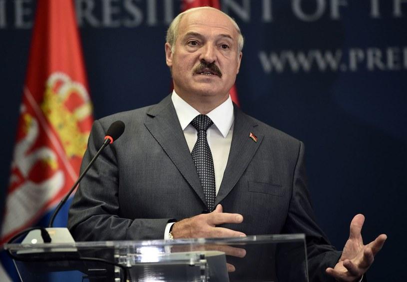 Prezydent Białorusi /AFP