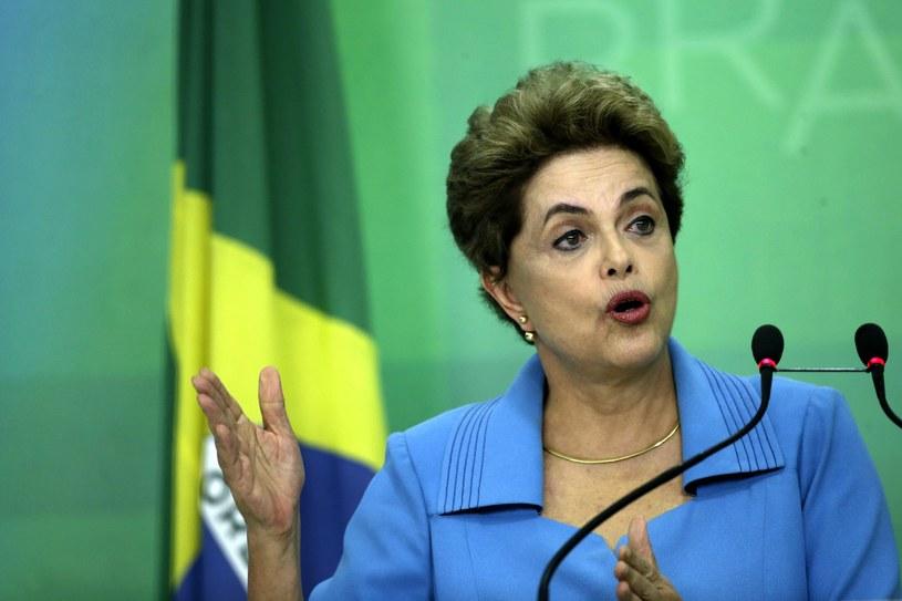 Prezydent Brazylii Dilma Rousseff /PAP/EPA