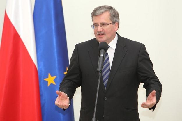 Prezydent Bronisław Komorowski / fot. J. Kucharzyk /East News
