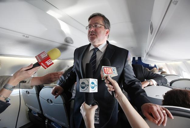 Prezydent Bronisław Komorowski/fot. Paweł Supernak /PAP