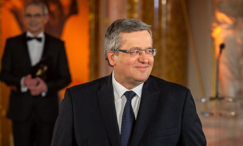 Prezydent Bronisław Komorowski /Stach Leszczyński /PAP